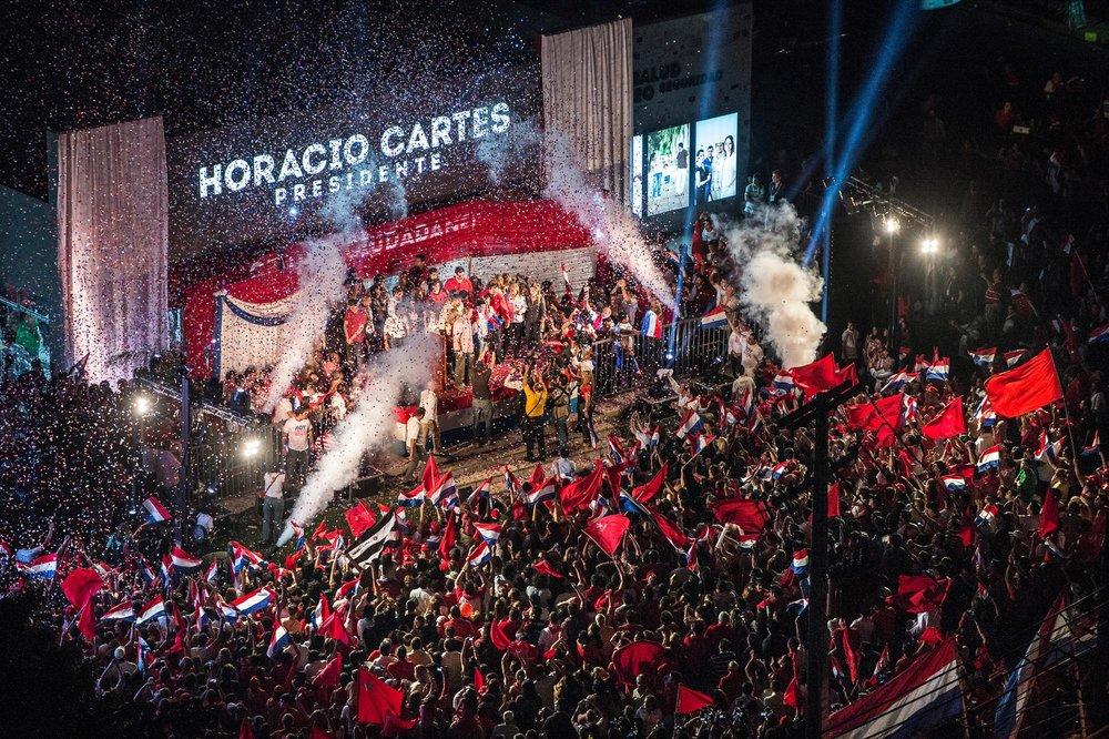 Paraguay's new president Horacio Cartes