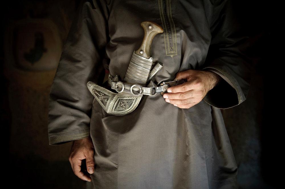 Typical omani dagger: Khanjar - Oman