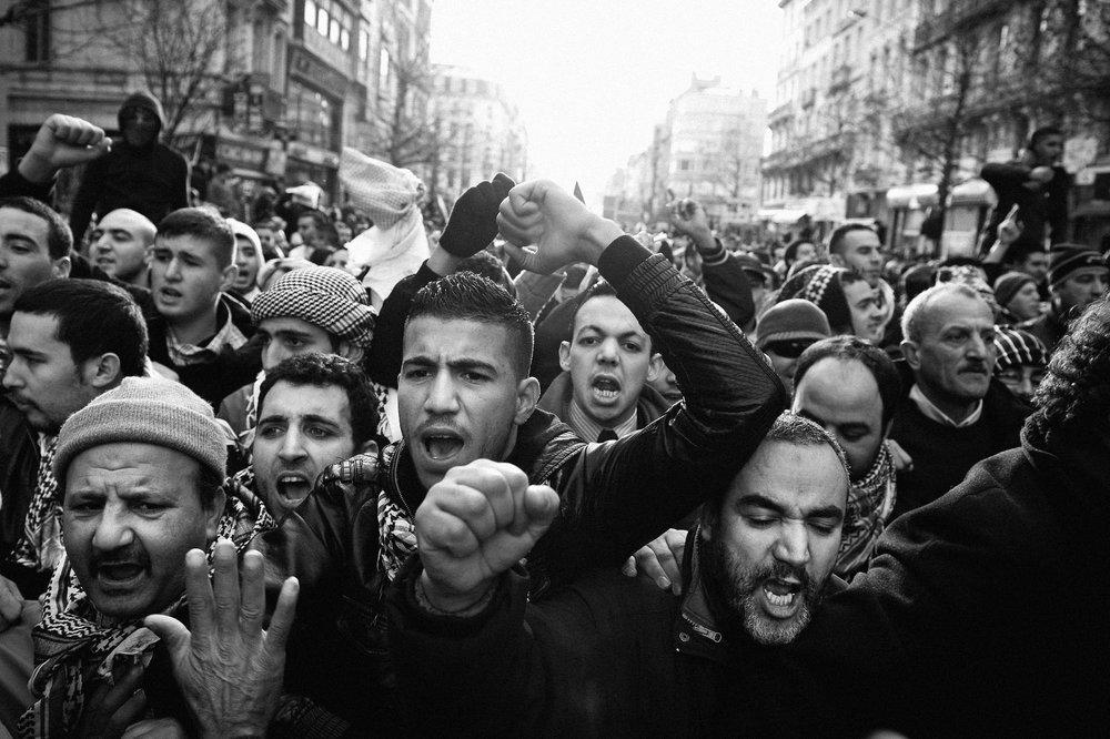 Pro Palestina demonstration - Brussels