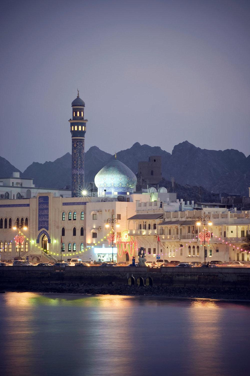 Muttrah city - Oman