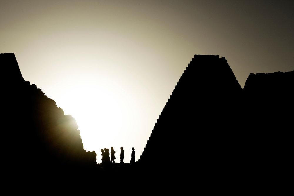 Ancient Nubian Pyramids, Sudan
