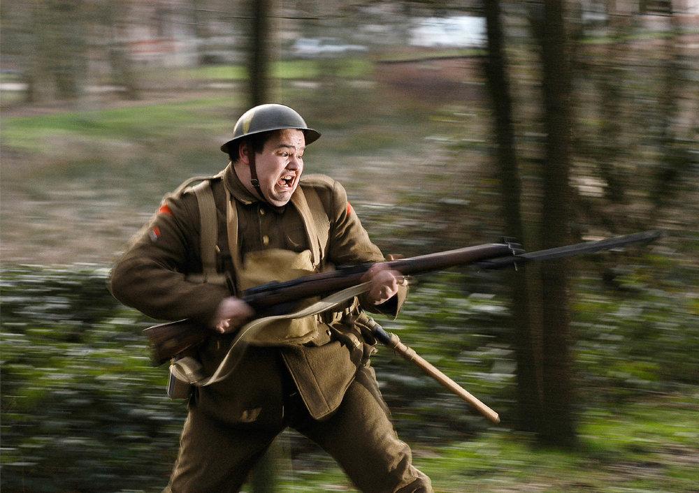 First World War vestiges report