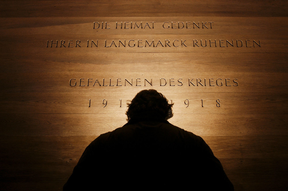Langemark German Military Cemetery - Belgium