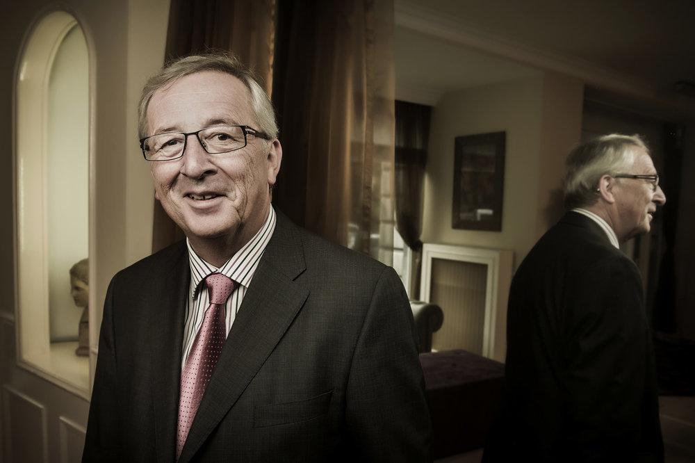 Jean-Claude Juncker, presidente de la Comisión Europea. Foto: Ezequiel Scagnetti  Use las flechas de su teclado ← o → para navegar en la galería.