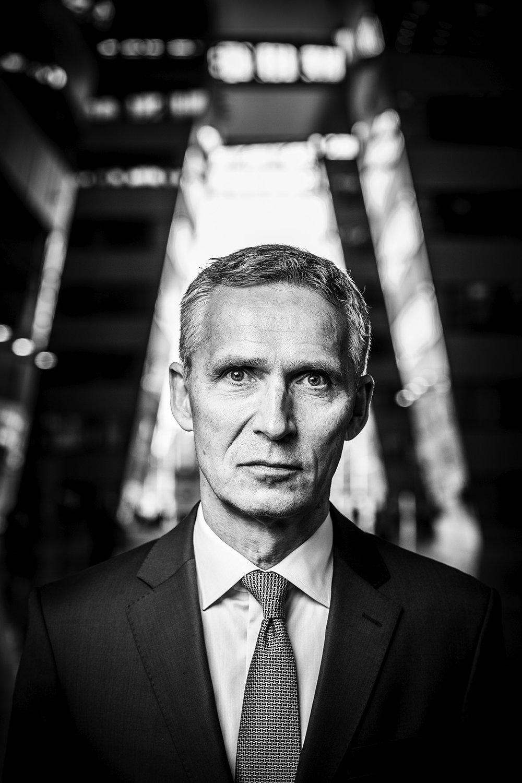 Jens Stoltenberg, Secretario General de la OTAN. Foto: Der Spiegel / Ezequiel Scagnetti  Use las flechas de su teclado ← o → para navegar en la galería.