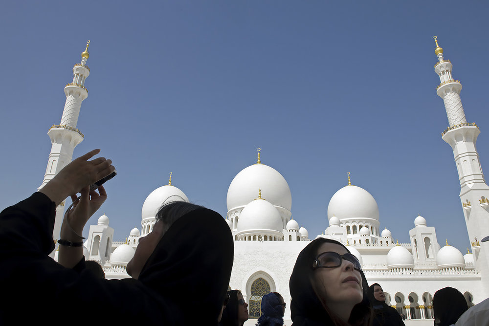 Mezquita Sheikh Zayed en Abu Dhabi. Foto: Ezequiel Scagnetti