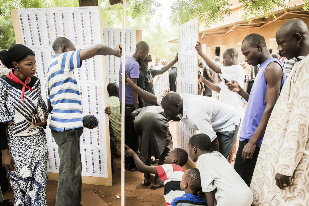 Elecciones en Mali. Foto: Ezequiel Scagnetti