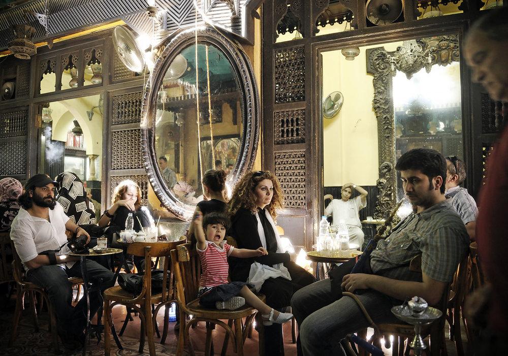 Café El Fishawi, Cairo, Egipto. Foto: Ezequiel Scagnetti
