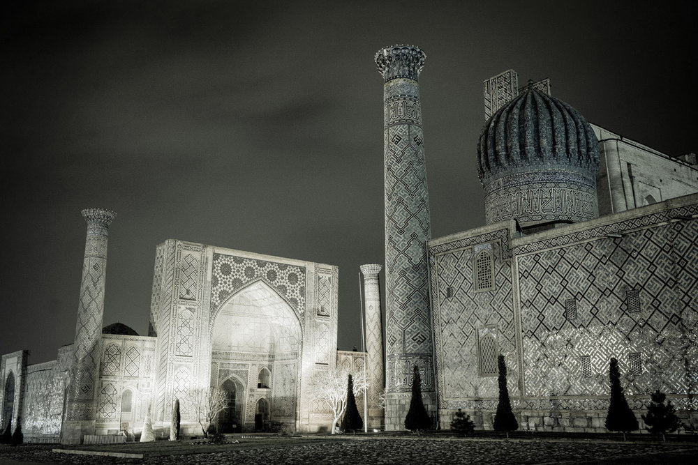 Samarcanda, Uzbekistán. Foto: Ezequiel Scagnetti