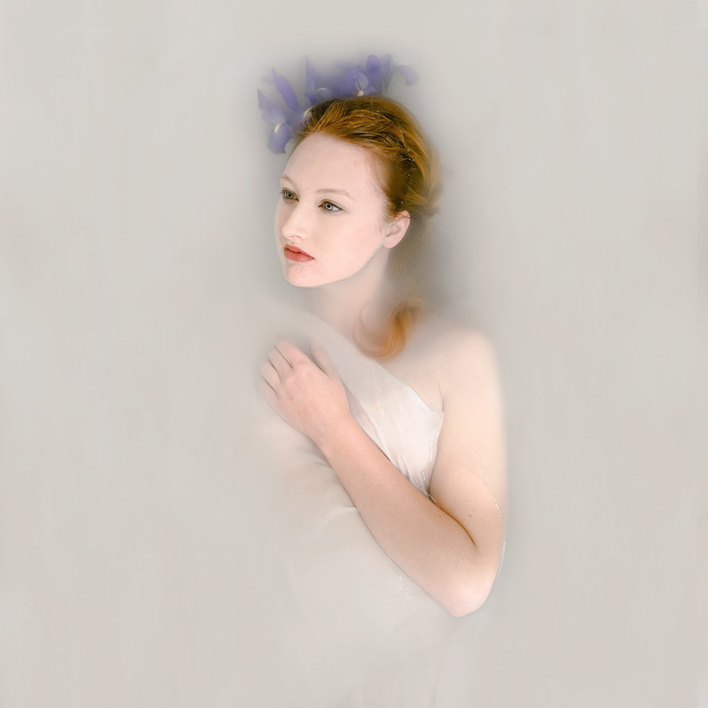 Goddess Milk Bath Portrait of Kelsey Johnson by Jaclyn Le