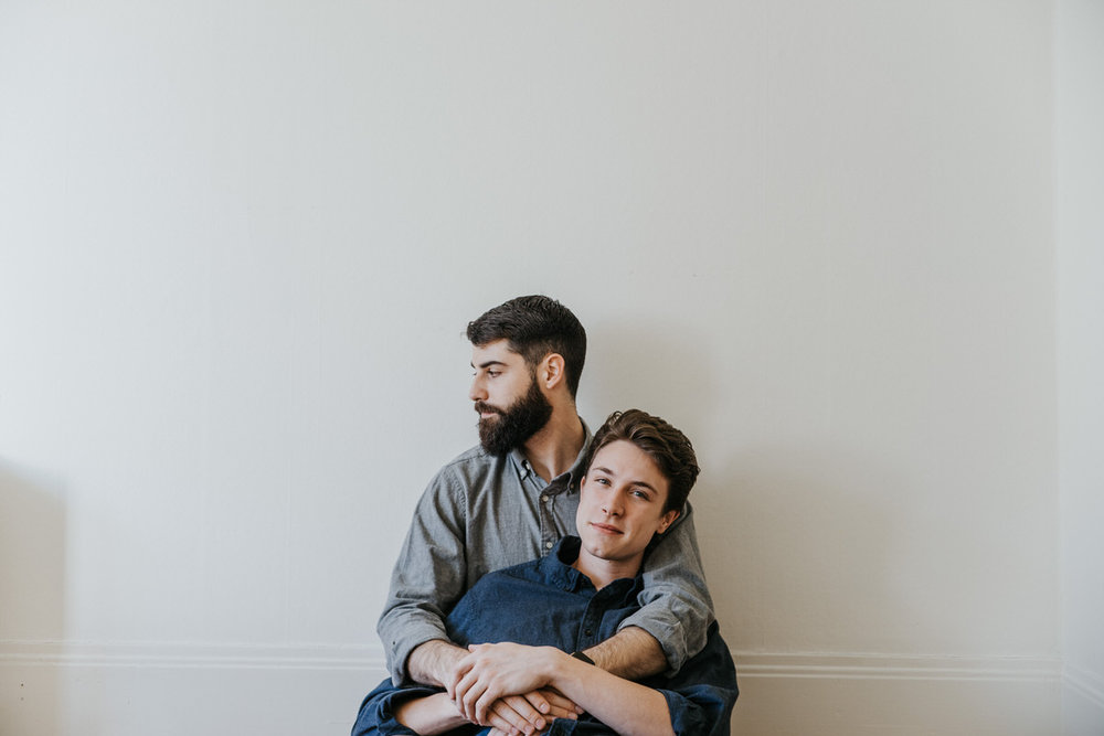 Chandler + Michael SF Gay Engagement Photo Shoot by Jaclyn Le