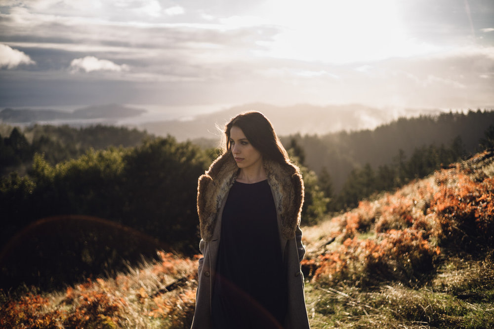 Majo Molfino Personal Brand Photography on Mt Tam by Jaclyn Le