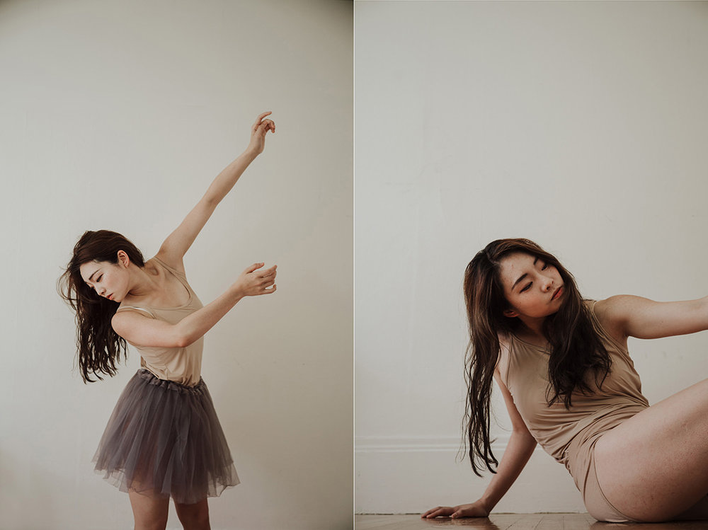 Contemporary Dancer Portraits of Kuan-Hsuan Lee