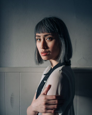 Portrait of designer Jeany Ngo by Jaclyn Le