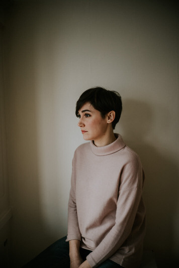 Artist headshot of designer Arian Franz by Jaclyn Le