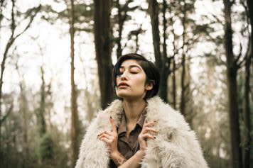 Mount Davidson portrait of Adrianna Reloba Benzakour by Jaclyn Le