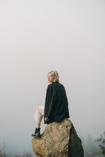 Mount Davidson portrait of Gabrielle Humphrey by portrait photographer Jaclyn Le