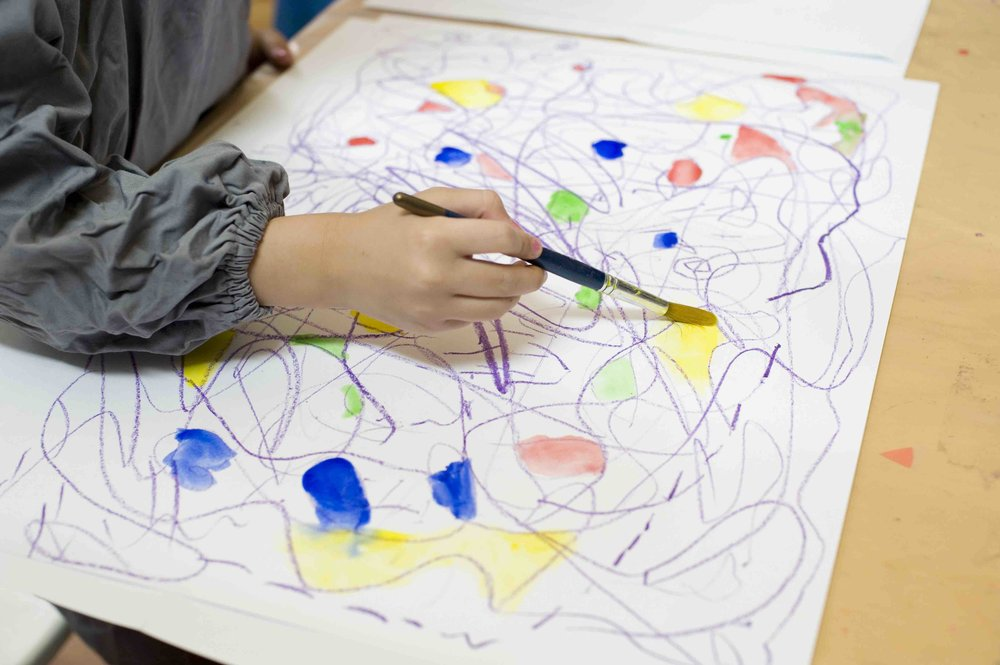 Paint What You Hear at  ArtPlay . Photo by  Shadow Zone Photography .