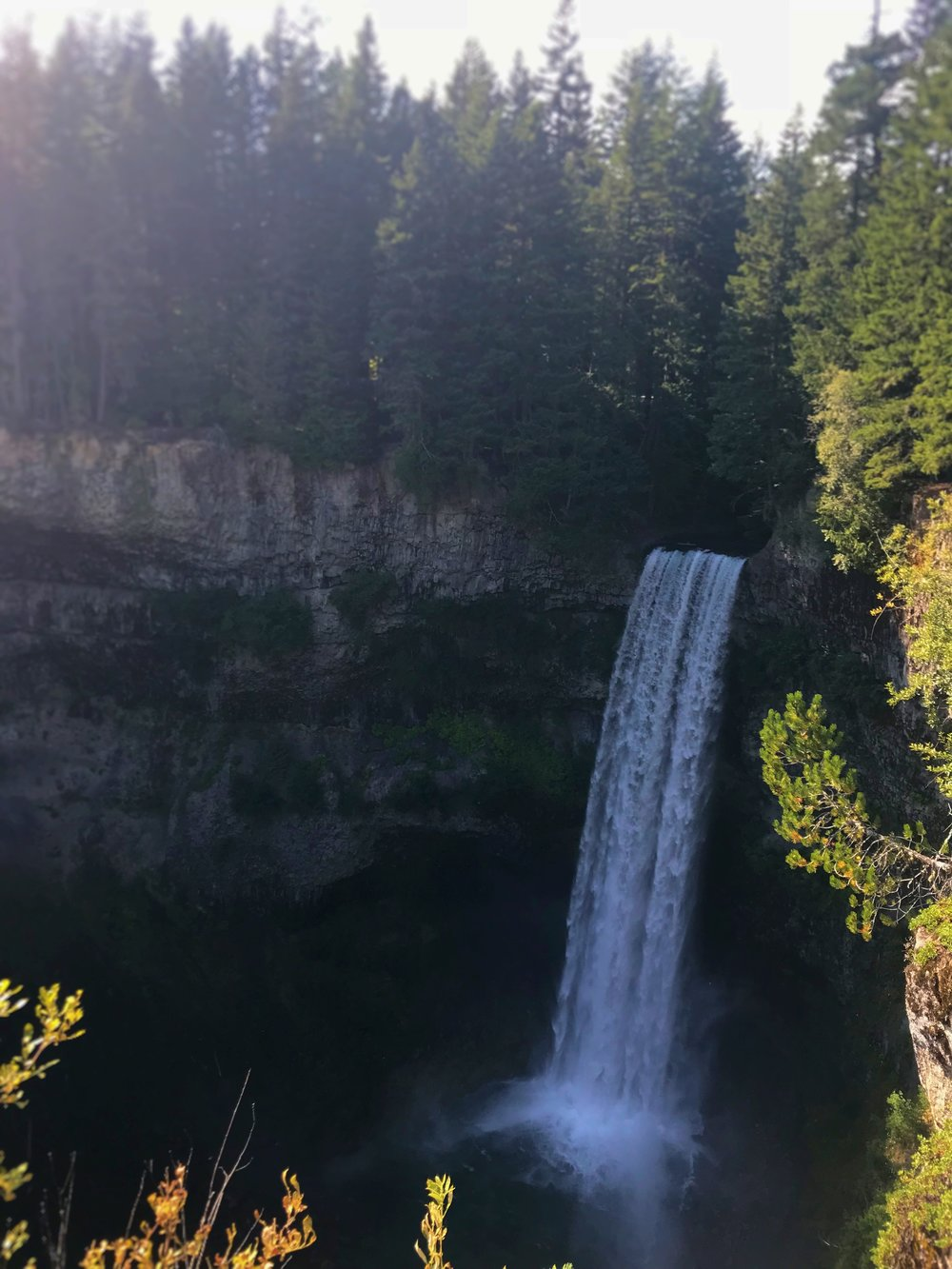 Brandywine Falls is a picture perfect waterfall.