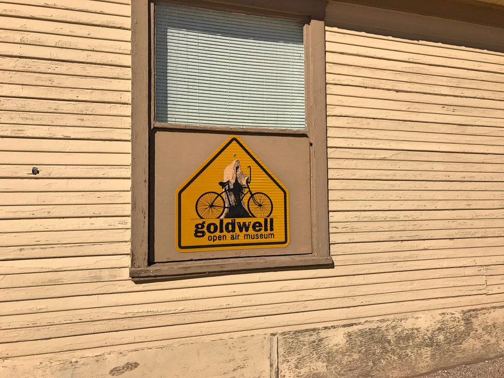The Goldwell Open Air Museum is worth the stop!