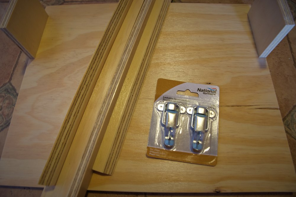These suitcase latches are really easy to install and use.