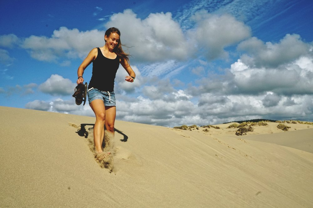 The Oregon Dunes are a giant grownup sand box.