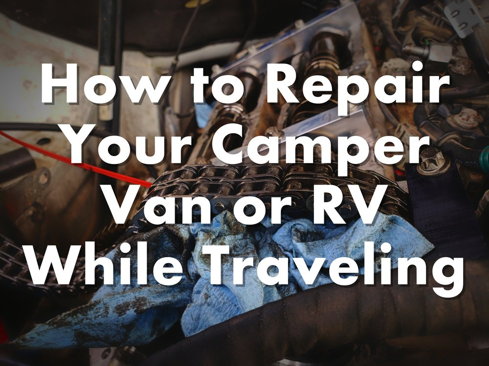 We saved around $4,000 by replacing the timing chain on our Sprinter Camper Van by ourselves.