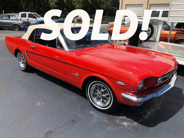1965 Ford Mustang Classic Vintage Exchange