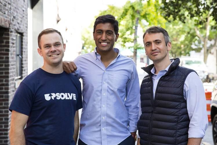 The Upsolve Team  Rohan Pavuluri and Jonathan Petts (Source: WSJ)