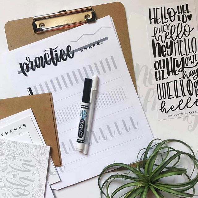Oh boy guys!!!!! We have a few tickets left for @millicentmaker hand lettering workshop TOMORROW AND SATURDAY!!! This is the perfect fall kickoff class...and we want you there! Use code FALL10 to take 10% off your ticket for the next 24 hours. Direct link in bio!!!