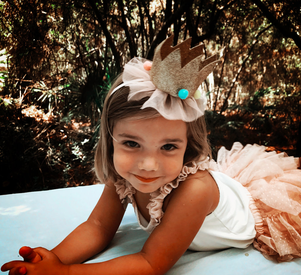 Ophelia - I love dressing up fancy, parties, princesses, and picnics. My favorite color is Pink. I love spending time outside on fun adventures and cooking. My favorite food is cake.