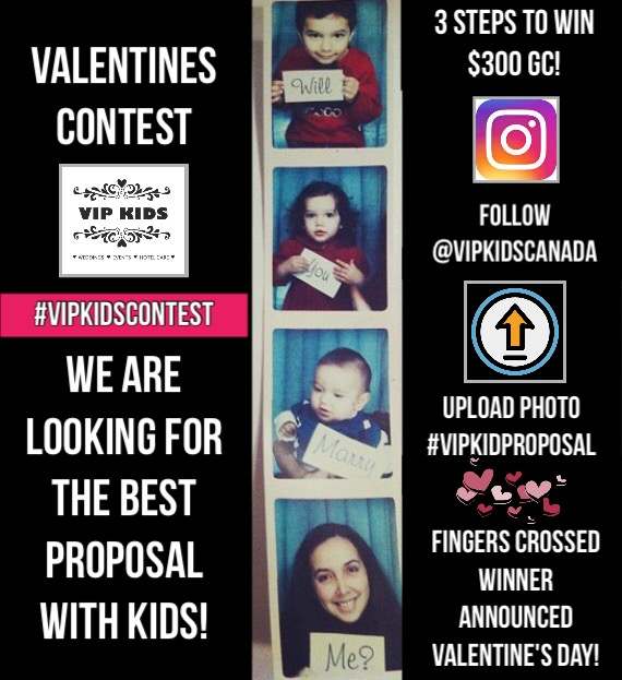 Valentines Contest On Instagram Win A 300 Gc Vip Kids Inc