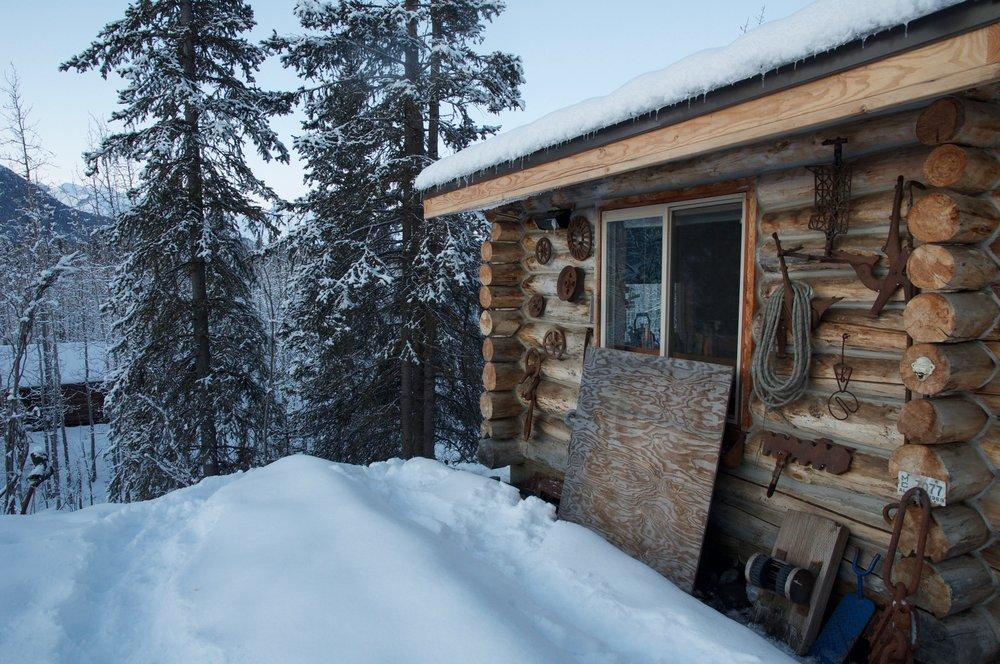 Malcom Vance's log cabin