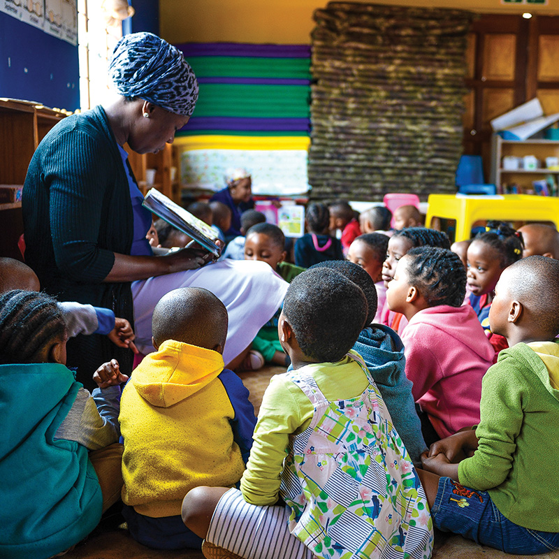 Early Childhood Development - Our investments aim to improve access to quality early childhood care and education