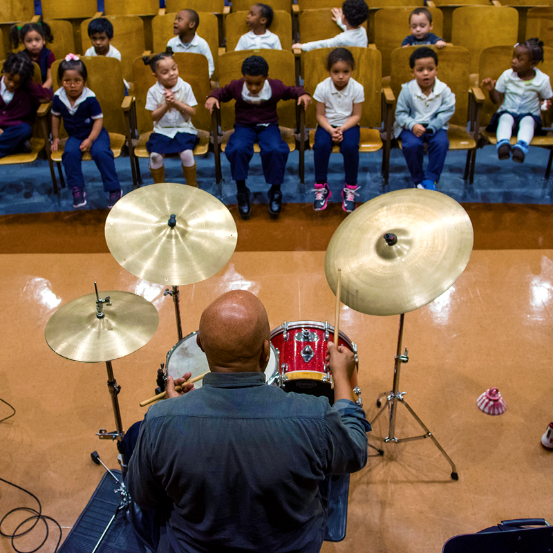 These investments support organizations that create access to high-quality, sequential music programming in primary and secondary schools     Learn about this Focus Area >