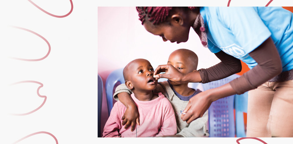 The ELMA Vaccines & Immunization Foundation invests in the expansion of immunization coverage for children, with an emphasis on Africa - LEARN MORE >