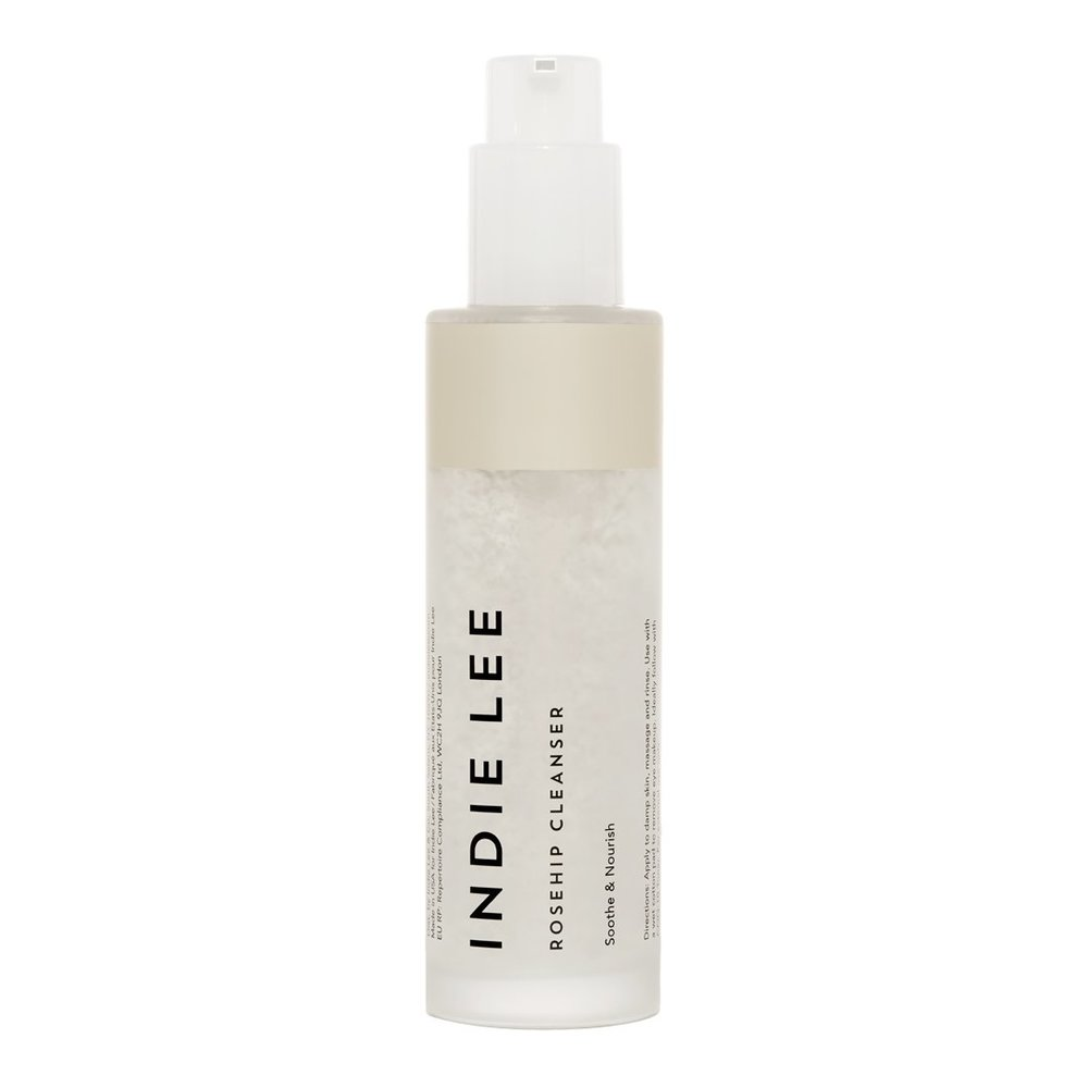 facial cleansers indie lee rosehip cleanser