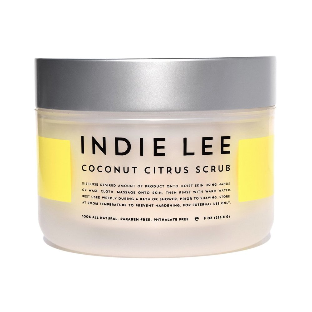 natural body scrubs indie lee coconut citrus scrub