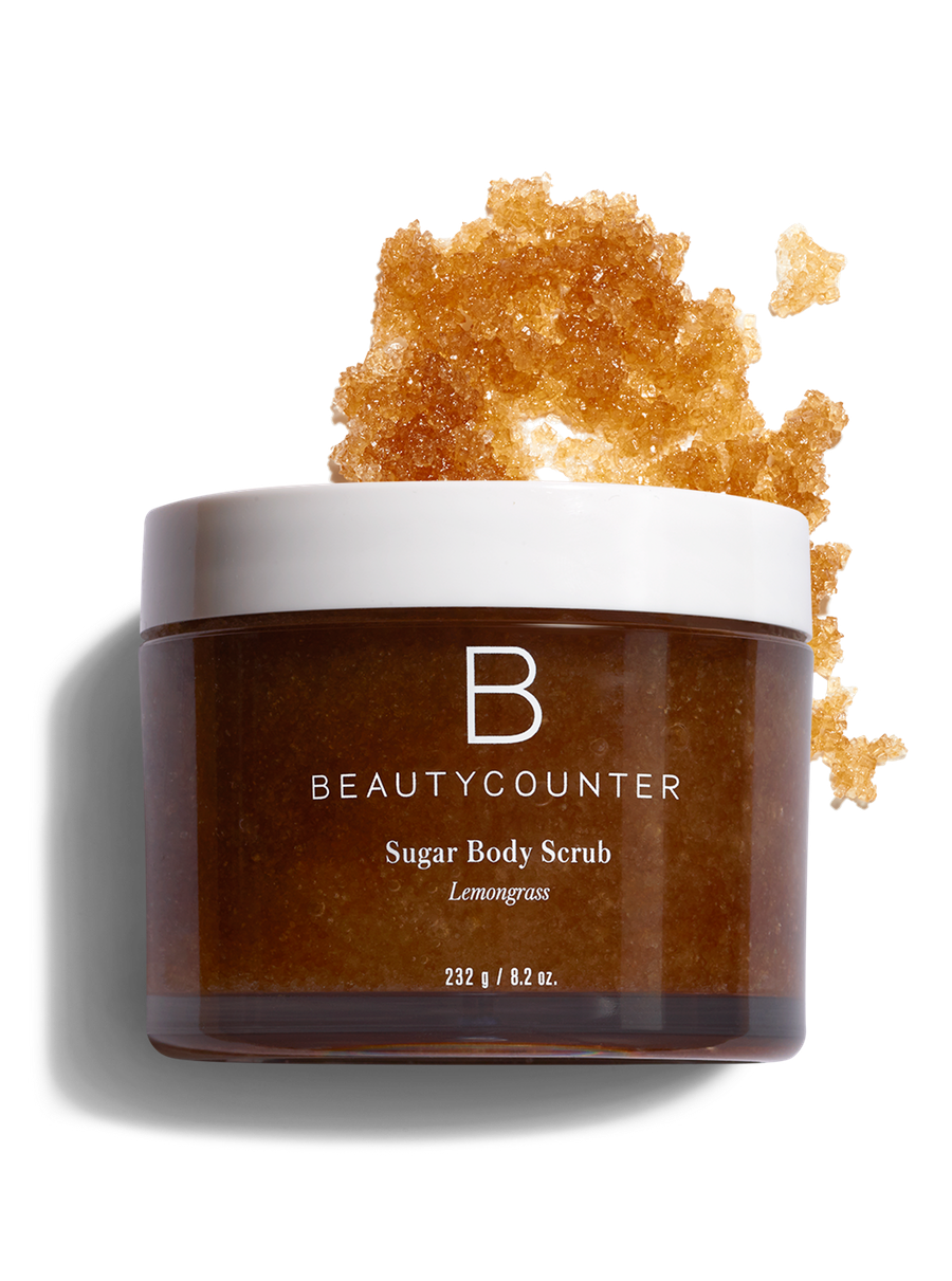 natural body scrubs beautycounter sugar body scurb lemongrass