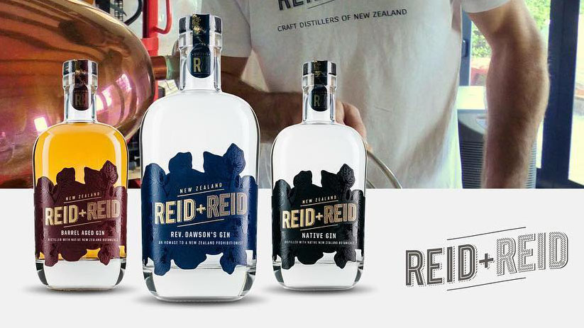 REID & REID - Craft distillery located in Martinborough, NZ founded by brothers Stew and Chris Reid.