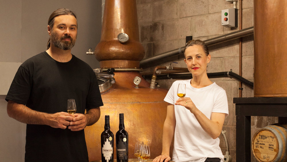THOMSON WHISKY - Hand-crafted New Zealand whisky, by traditional methods for contemporary ends.