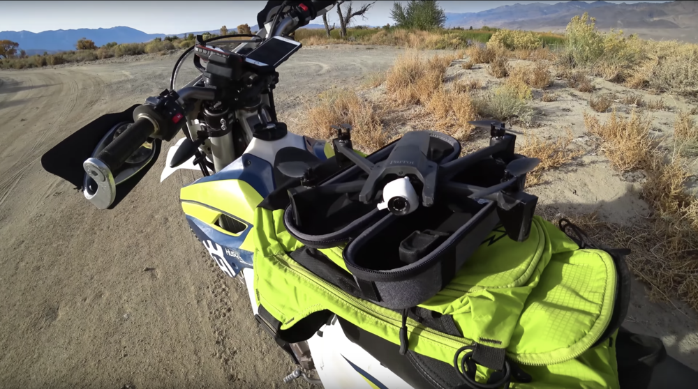 Camera Drones for Off Road Riding - Parrot Anafi Review — BUILTBIKE