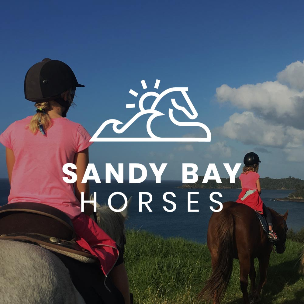 SANDY BAY HORSES  | LOGO DESIGN