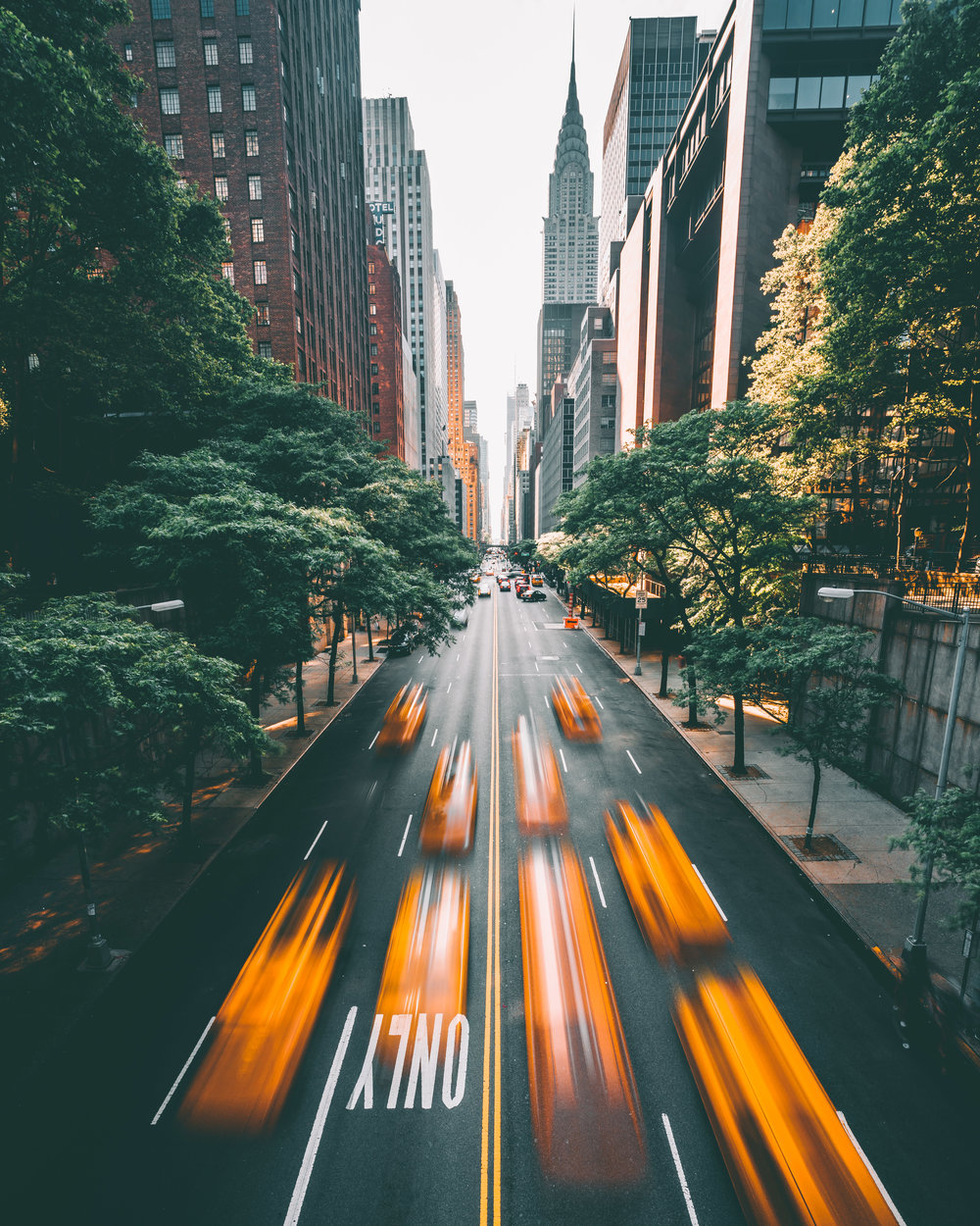 Tudor City Taxis - NYC (4x5) SS.jpg