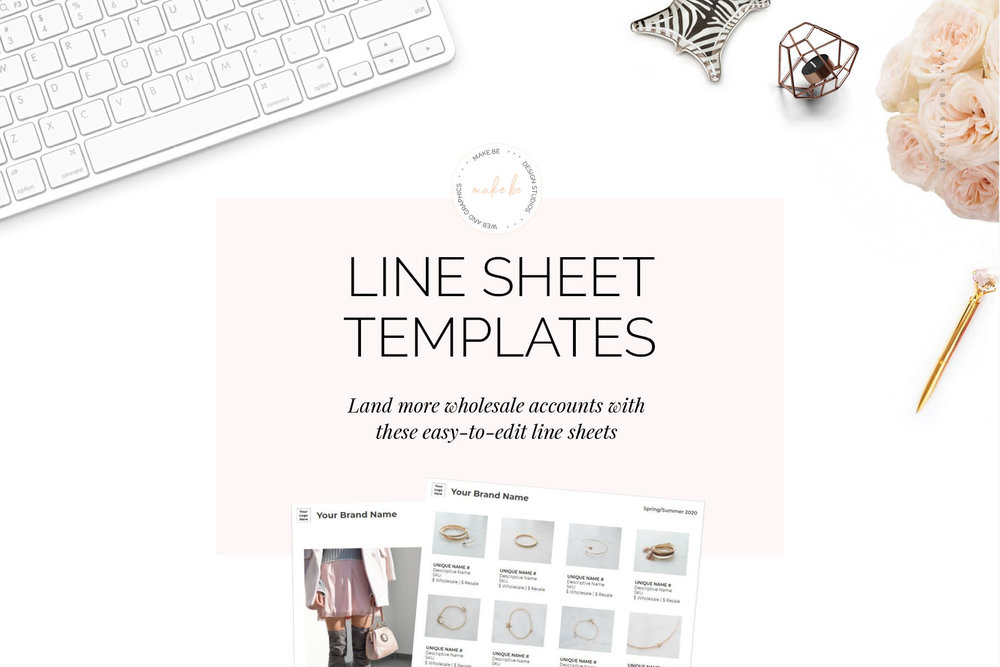 Line Sheet Template | How To Make A Wholesale Line Sheet And Why You Need One Make Be