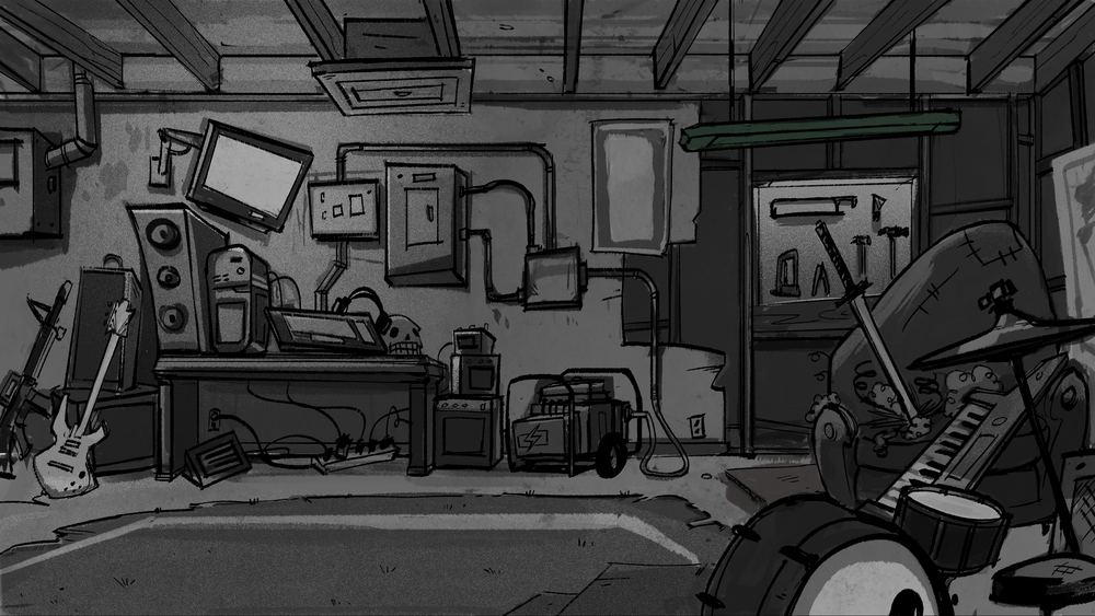 landy's garage_grayscale.png