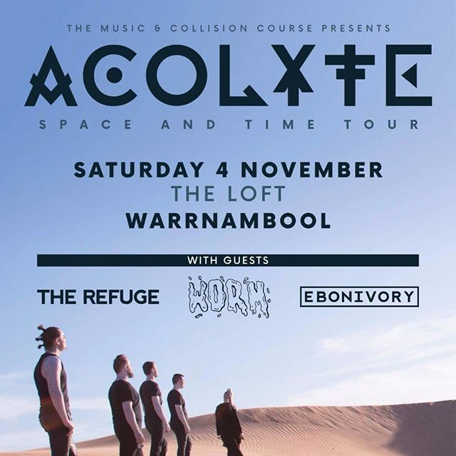 Playing @theloft_bar this weekend! Get there!  #warrnambool #acolyte #worm #rock #theloftwarrnambool