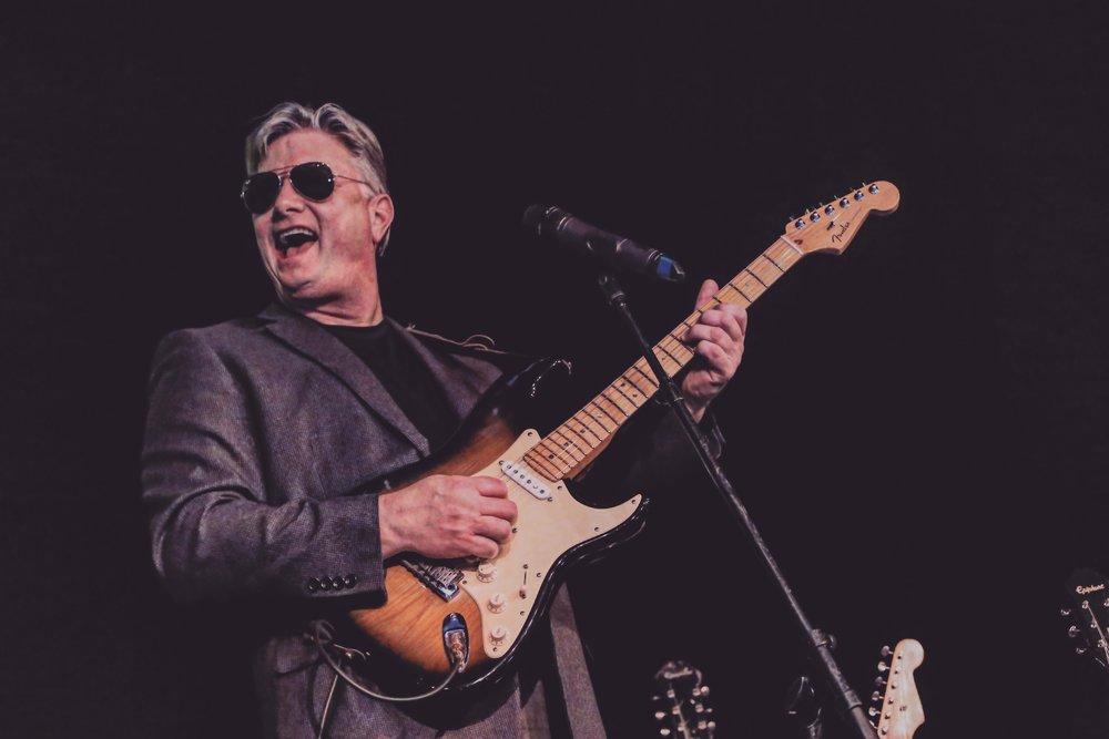 Guitarist Ed O'Connor as Steve Miller