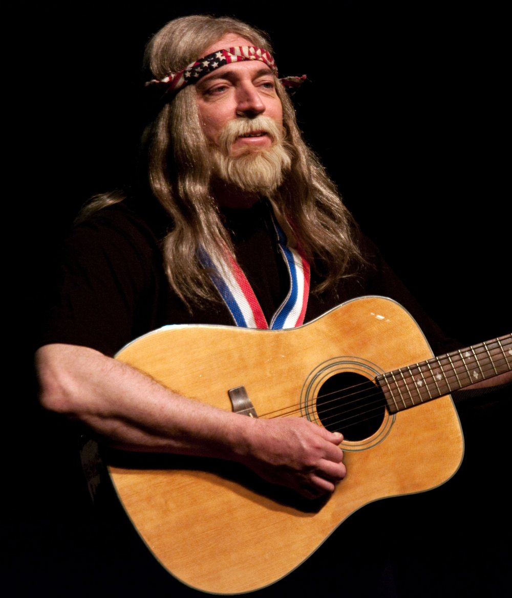 Brian Mahoney as Willie Nelson