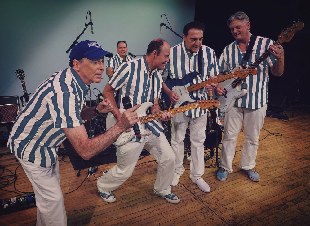 The Mahoney Brothers as The Beach Boys
